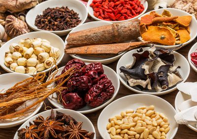 Chinese medicine dishes